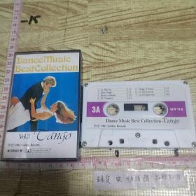 磁带:  Dance Music Best Collection (Vol.3)Tango 立体声。1982