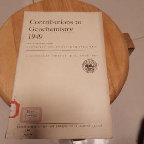 Contributions  to  Geochemistry 1949(地质观察报告992)