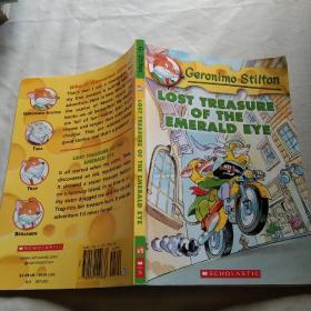 Geronimo Stilton #1: Lost Treasure of the Emerald Eye  老鼠记者系列#01:遗失的宝藏 英文原版