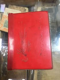 (四川省蓬溪县)常用中草药手册 (70年1版1印  64开 红色塑封  蓬溪县常用中草药437种, 草药验方410个 植物图版154幅)