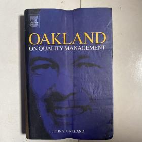 OAKLAND ON QUALITY MANAGEMENT 受潮比较厉害