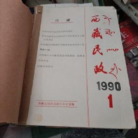 西藏民政1990