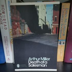 Death of a Salesman:Arthur Miller 《销售员之死》阿瑟•米勒 英文原版内页有划线笔记