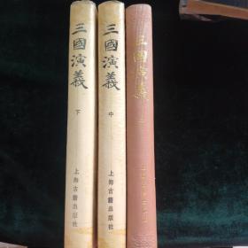 三国演义(上中下精装全三册 )繁体竖版 插图本 毛宗岗评改