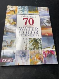 Coltan Szabo's 70 Favorite  Water Color Techniques