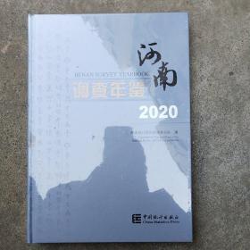 河南调查年鉴(附光盘2020汉英对照)(精)