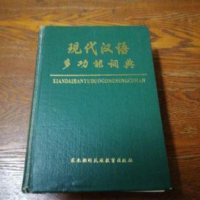 现代汉语多功能词典