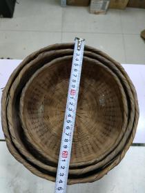 3合1  竹编3个合售
