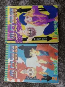 90年代怀旧日本漫画《少女情怀》二册全