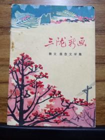 三陇新画 (散文报告文学集)