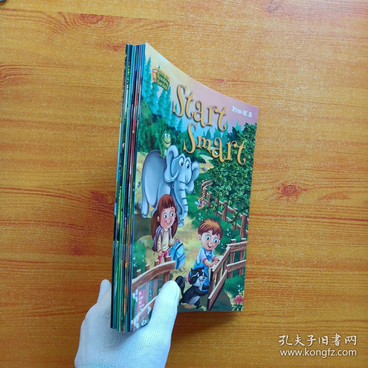 McGraw-Hill  Reading Garden  (10册合售)【内页干净】