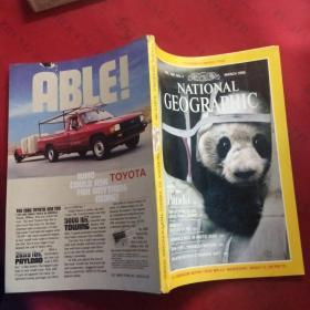 NATIONAL GEOGRAPHIC March 1986 Panda 美国国家地理 1986 3 英文版