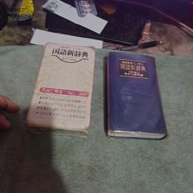 国语新辞典  日文