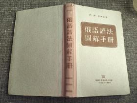 俄语语法图解手册【精装繁体,品较好】