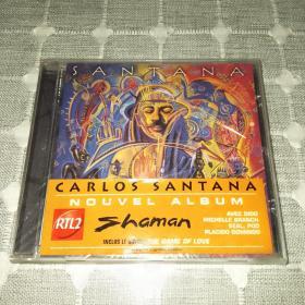 Santana shamanCD,桑塔纳乐队,全新未拆封