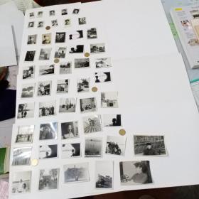 日常照片50枚合售(基本为上世纪五十年代所拍)