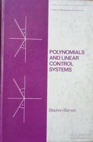 【精装英文原版】Polynomials and linear control systems (Pure and applied mathematics)