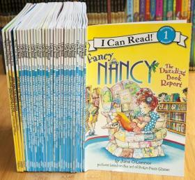 点读版漂亮的南希Fancy NancyI Can Read 儿童阶段读物30册