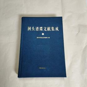 洞头谱牒文献集成(下)16开布面精装