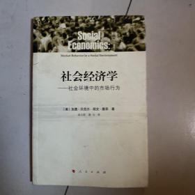 社会经济学:社会环境中的市场行为