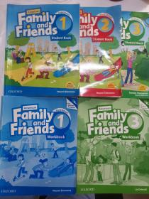 Family  and  Friends (5册合售,见图)
