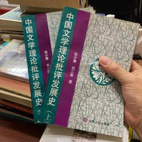 中国文学理论批评发展史(上下)