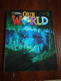 OUR WORLD5 有少量字迹  无光盘