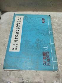 中国嵩山少林寺少林跌打损伤秘方秘抄本选集