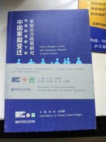 中国家庭变迁和国际视野下的家庭公共政策研究