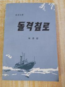 朝鲜原版-돌격침로(朝鲜文)