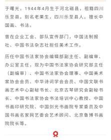 保真书画,中国书协理事,中国书协中央机关分会副主席,著名书法家,于曙光《终南阴岭秀......》诗词书法一幅,软片,尺寸69.5×68.5cm。