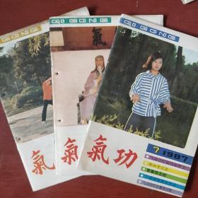 《气功》1987年 7.10.11册 3册合售 浙江中医杂志社 私藏 书品如图