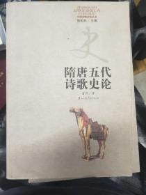 隋唐五代诗歌史论
