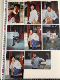 中国内地演员 刘冠军照片一组 八张 代表作品 空镜子、海狼行动、《跟我前妻谈恋爱》