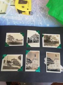 广州老照片  1956年中山纪念堂留影6张
