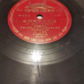 我们亲爱的祖国,黑胶木唱片