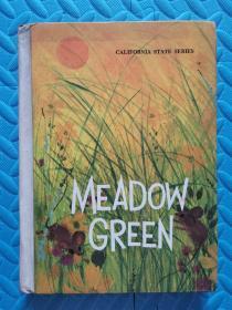 MEADOW GREEN 绿色的草地【精装】