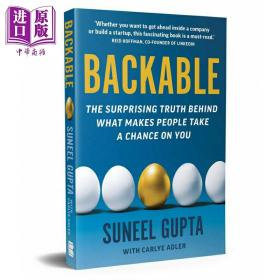 [全新正版现货]靠谱:让他人给你机会的惊讶真相Backable : The Surprising Truth Behind What Makes People Take a Chance on You9780316204736