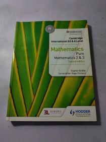 Cambridge International AS & A Level Mathematics Pure Mathematics 2&3 Second edition 英文原版
