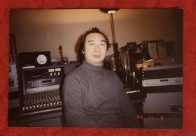 著名作曲家 张小夫 1996年原版老照片一枚