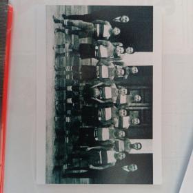 孙立人将军在清华大学学生时期的合影