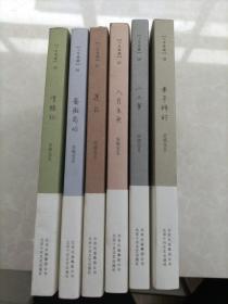 安妮宝贝十年修订典藏文集(八月未央,蔷薇岛屿,二三事,清醒纪,莲花,素年锦时)6本合售