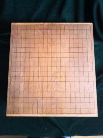 日本榧木围棋墩 5.5吋 丹波 静斋作 整木全手工制作