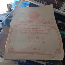 中国佛协西藏分会第六届代表会议藏汉
