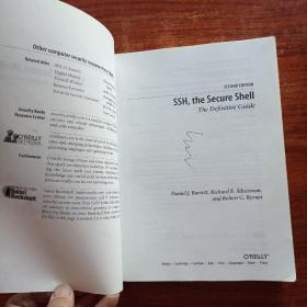 SSH, The Secure Shell:The Definitive Guide,2nd edition