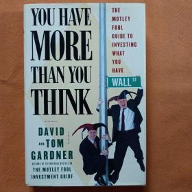 YOU HAVE MORE THAN YOU THINK  精装