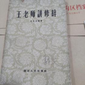王老师讲修辞。