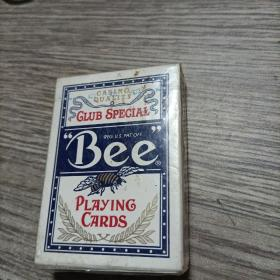 """Bee"" Playing Cards(No. 92 Club Special)""蜜蜂""扑克牌(全新未开封)美国原装"