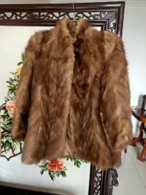 俄罗斯紫貂皮毛上衣(软黄金)