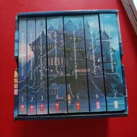 special edition harry potter paperback box set   特别版 哈利波特平装盒套装 1-7册